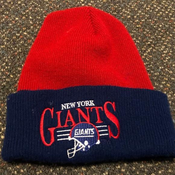 Vintage NY Giants Knit Hat 2f3221e0c